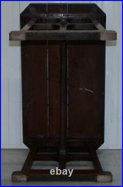 A. W. N Pugin Gothic Revival Vestry Writing Table Desk Made In England Circa 1780