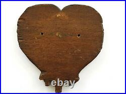 Antique-18th Century Oak Carving-Tree Of Life Plaque-From Old Church-circa 1750s