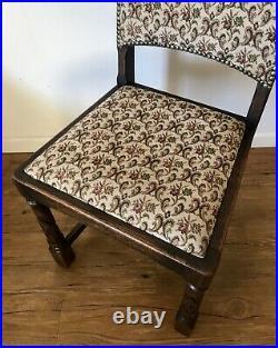 Antique Gothic / Jacobean Oak Chair