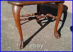 Antique R J Horner Style Tiger Oak Carved Sea Serpent Arm Chair P. Derby