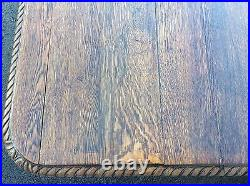 FRENCH ANTIQUE SOLID OAK TABLE BANQUET CONFERENCE TAVERN GOTHIC TUDOR 13' x 5' 9