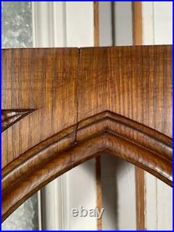 French Antique Gothic Revival Arch/Corbel/Bracket in Solid Oak Wood