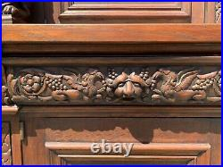 Gothic Carved Antique Dining Room Set