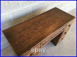 Jamestown Lounge Feudal Oak Writing Desk And Chair