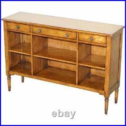 Made In England Multiyork Solid Oak Triple Drawer Sideboard Bookcase Cupboard