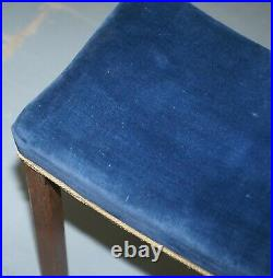 Rare Original King George VI Coronation Stool 1937 Limed Oak By Waring & Gillow