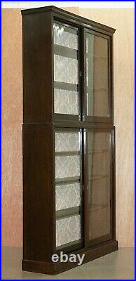 Stunning Victorian Full Sized Habberdashery Apocethary Cabinet Library Bookcase