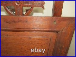 Vintage Antique Victorian Prayer Chair Catholic Religious Steampunk Goth Secret