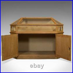 Vintage Display Cabinet, Ecclesiastical, Shop, Retail, Showcase, Gothic Revival