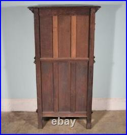 Vintage French Gothic Revival Cabinet/Console/Sideboard, Highly Carved Oak