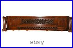 Wonderful French Gothic Architectural Panel, 19th Century, Oak